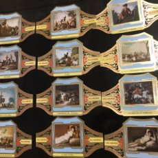 Sellos: VITOLAS ALVARO GOYA SERIE II (CUADROS DE PINTORES ESPAÑOLES). Lote 190383562
