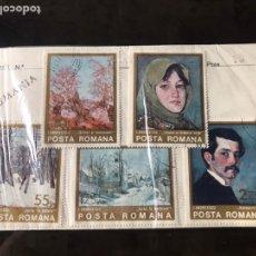 Sellos: SERIE DE SELLOS COMPLETA RUMANIA. Lote 190387026