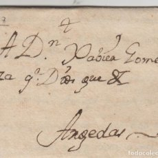 Sellos: PREFILATELIA NAVARRA AÑO 1790 VALTIERRA /ARGUEDAS .CARTA COMPLETA. Lote 190644878