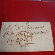 Sellos: MONDRIZ LUGO 1830 MATASELLO MONFORTE LUGO FILATELIA COLISEVM NUMISMÁTICA COLECCIONISMO. Lote 191038691