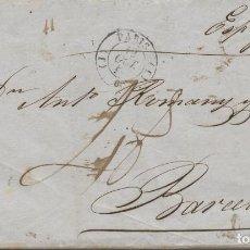 Francobolli: 1843 CARTA DE PARIS A BARCELONA, PORTE MANUSCRITO 4 R.. Lote 191575350