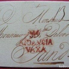 Sellos: CARTA PREFILATELIA 1786 MÁLAGA A GANTE. Lote 192945733