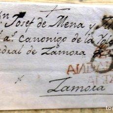 Sellos: PREFILATELIA. CARTA ENTERA DE CÓRDOBA A ZAMORA. 1791. RARA MARCA ANDALUZIA ALTA. Lote 193049725