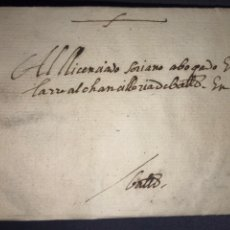 Sellos: 1591. CARTA, ENVUELTA POSTAL DE NÁJERA A VALLADOLID. POR ORDEN DE LOS SIETE.. Lote 194509322