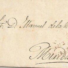 Sellos: PREFILATELIA.AÑO 1852.CARTA DE CÁCERES A MÉRIDA.. Lote 195077065