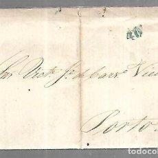 Sellos: CARTA DE LISBOA A OPORTO. 1832. Lote 195950870