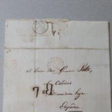 Sellos: CARTA DE PARIS A CACERES AÑO 1839 C266. Lote 197908292
