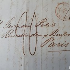 Sellos: CARTA DE LONDRES A PARIS AÑO 1839 C271. Lote 197914112