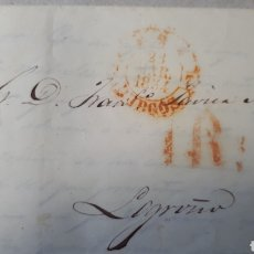Sellos: CARTA DE PARIS A CACERES AÑO 1854 C276. Lote 197916727