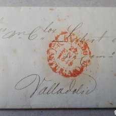 Sellos: CARTA DE OVIEDO A VALLADOLID AÑO 1849 C280. Lote 197917811