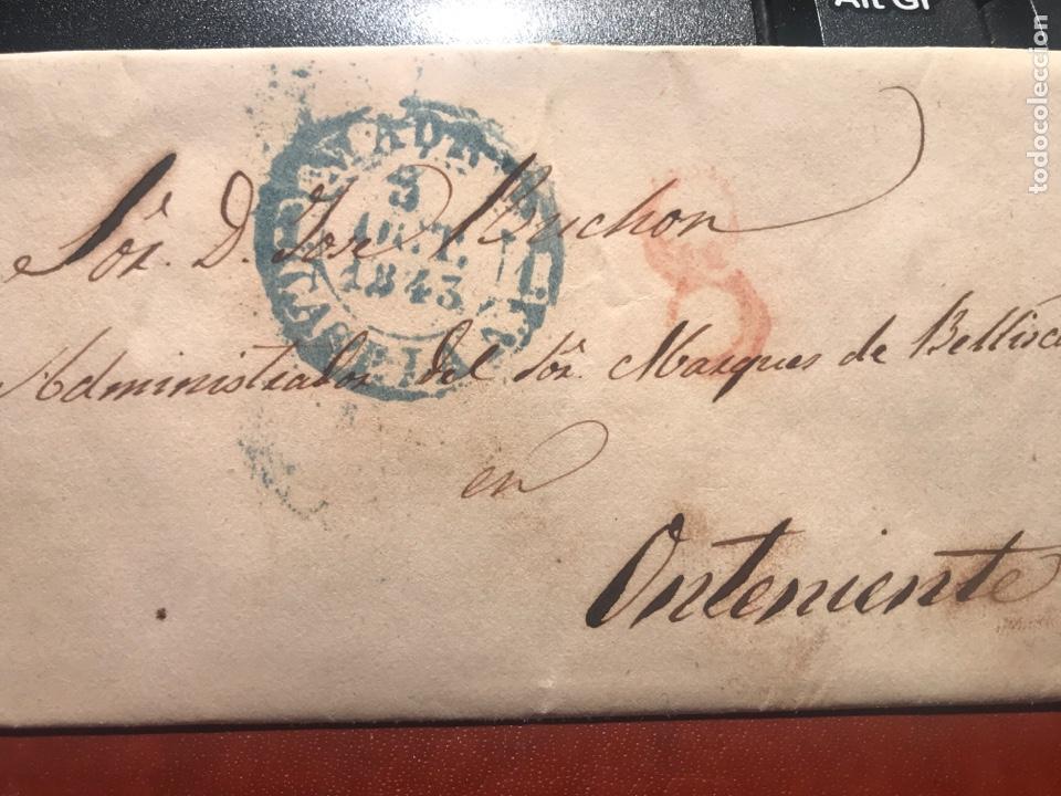PREFILATELIA. GRANADA.ONTENIENTE. 1843 (Filatelia - Sellos - Prefilatelia)