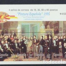 Timbres: ESPAÑA 1995. PINTURA ESPAÑOLA. HB EDIFIL 3401 **. Lote 203276548