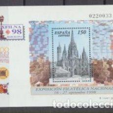 Timbres: ESPAÑA. EXFILNA 98. HB EDIFIL 3557 **. Lote 203276678