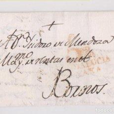 Timbres: FILATELIA. CARTA SEVILLA A BORNOS, CÁDIZ. 1805. Lote 204086127
