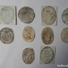 Sellos: TIMBROLOGIA - 9 TIMBRES EMPORDA- PALAU SATOR / CORÇA / TORROELLA M./ CRUILLES + 5 - VER FOTOS Y DES. Lote 204590445