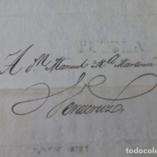 Sellos: CARTE PREFILATELIA PUEBLA DE LOS ANGELES A VERACRUZ MEXICO 1828. Lote 205443708
