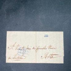 Sellos: CARTA DE RIO DE JANEIRO A OPORTO 1842.. Lote 205667537