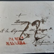 Sellos: CARTA MARCA PAMPLONA NAVARRA. Lote 205812162