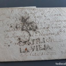 Timbres: ENVUELTA, MARCA CASTILLA LA VIEJA (ZAMORA), 1785. Lote 205874330