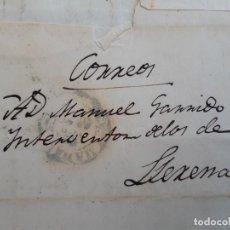 Timbres: CARTA COMPLETA, MARCA MADRID AZUL, 1843. Lote 206117238