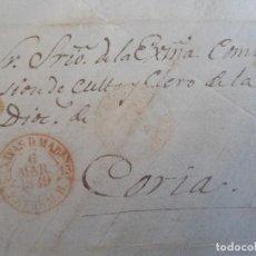 Timbres: CARTA , MARCA NAVAS DEL MADROÑO , 1849 .. Lote 206236677