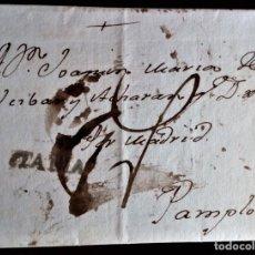 Timbres: BOLONA BOLONIA PAMPLONA NAVARRA ESPANA ESPANA 1790 ITALIA ITALY. Lote 206251287