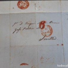 Timbres: CARTA AUTÓGRAFA EUSEBIO ASQUERINO , HUELVA, 1843. Lote 206302530