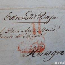Timbres: CARTA COMPLETA, MARCA 17 DE GRANADA , 1840. Lote 206303053