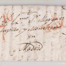 Sellos: PREFILATELIA. CARTA ENTERA. CENICERO, RIOJA. 1831. MARCA DE HARO. Lote 206431897