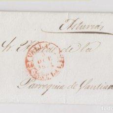 Sellos: PREFILATELIA. ENVUELTA DE VALLADOLID AL ALCALDE DE LA PARROQUIA DE SANTIANES DE PRAVIA. ASTURIAS. Lote 206446417