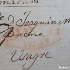Timbres: CARTA COMPLETA, RELATA HECHOS HISTÓRICOS CARLISMO, MARCA SALAMANCA , 1838. Lote 206866558