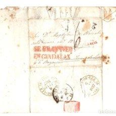 Timbres: SOBRE PREFILATELIA MADRID A BAYONA, FRANCIA. AÑO 1837. Lote 206877651