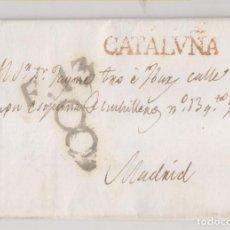 Sellos: PREFILATELIA. CARTA ENTERA. ABADESA DE SAN PEDRO DE LAS PUELLAS. BARCELONA. 1824. Lote 207891033