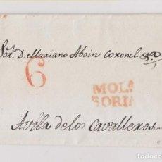 Timbres: PREFILATELIA. CARTA ENTERA MOLINA DE ARAGÓN. SORIA. 1844. GUADALAJARA A ÁVILA. Lote 208153755
