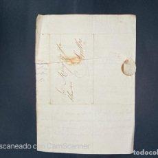 Sellos: 1830. CARTA DE MADRID A SEVILLA. VER. Lote 209321040
