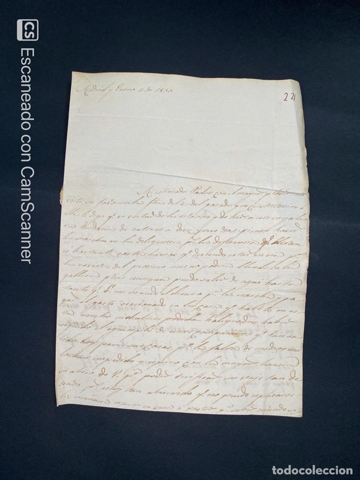 Sellos: 1830. CARTA DE MADRID A SEVILLA. VER - Foto 3 - 209321040