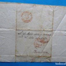 Timbres: CARTA DIRIGIDA A DON PABLO MILA Y FONTANALS EN 1854.. Lote 210185976