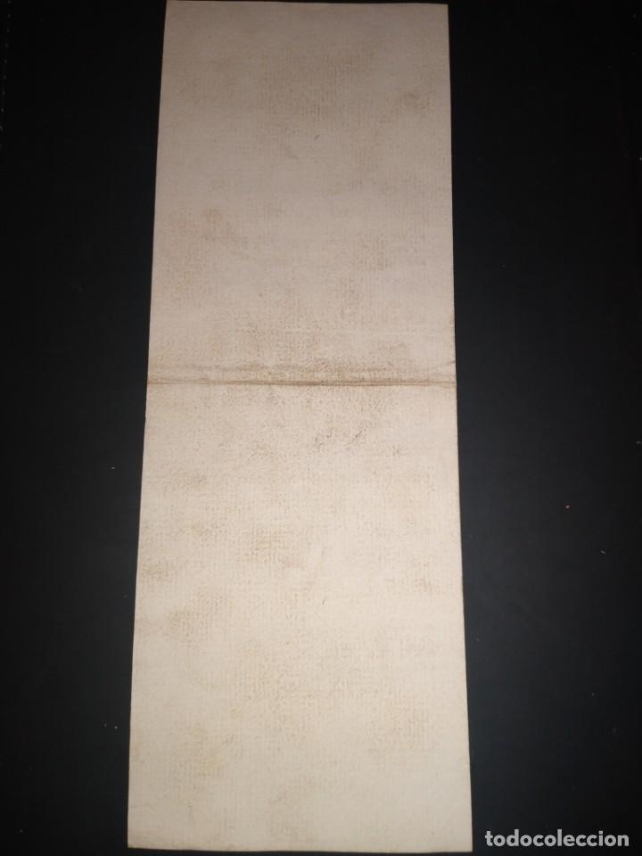 Sellos: Recibo, debe al correo general de los portes de sus cartas, apartado de correos.. Año 1807 - Foto 2 - 210226101