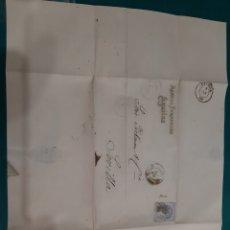 Sellos: 1871 MANUEL FERNÁNDEZ ÁGUILAS SEVILLA DIRIGIDO A PICKMAN CÍA LOZA SEVILLA. Lote 210367707