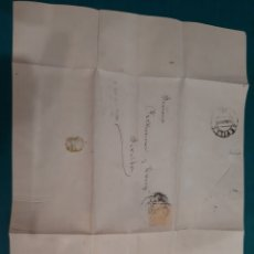 Sellos: SANTANDER ANTONIO DE LA DEHESA CARTA DIRIGIDA A PICKMAN FABRICA LOZA 1883. Lote 210368462