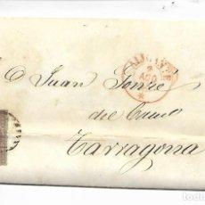 Sellos: CARTA PREFILATELIA - AÑO 1855 -ALICANTE. Lote 216006581