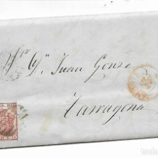 Sellos: CARTA PREFILATELIA - AÑO 1855 - ALICANTE. Lote 216117480