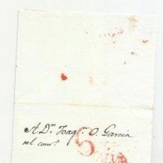 Selos: CIRCULADA Y ESCRITA VISITA DOS DIPUTADOS 1834 DE BARCELONA A TARRAGONA. Lote 217503258