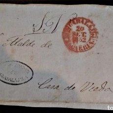Sellos: PREFILATELIA GUADALAJARA 1852 FRANQUICIA FRONTAL. Lote 218488816