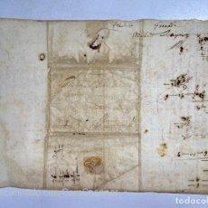 Sellos: 1699. CARTA DE GRANADA A FLORESTA ESCRITA EN INGLES. VER FOTOS. Lote 220926452