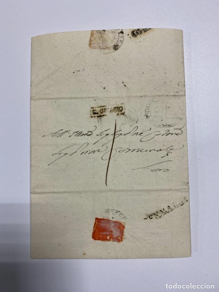 SOBRE DEL ESTADO VATICANO. 18 FEBRERO DE 1899. VER FOTOS (Filatelia - Sellos - Prefilatelia)