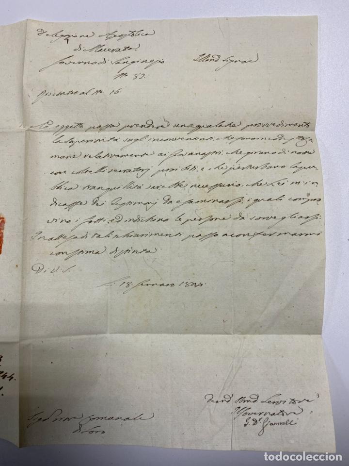 Sellos: SOBRE DEL ESTADO VATICANO. 18 FEBRERO DE 1899. VER FOTOS - Foto 2 - 224036631