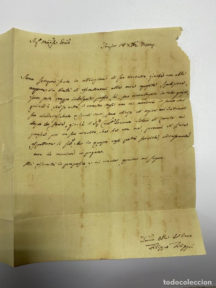 Sellos: SOBRE DEL ESTADO VATICANO. 18 DICIEMBRE DE 1827. VER FOTOS - Foto 3 - 224037982