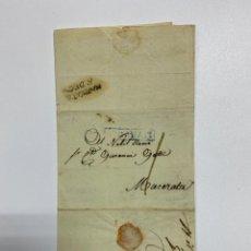 Sellos: SOBRE DEL ESTADO VATICANO. 11 DICIEMBRE DE 1817. VER FOTOS. Lote 224038071