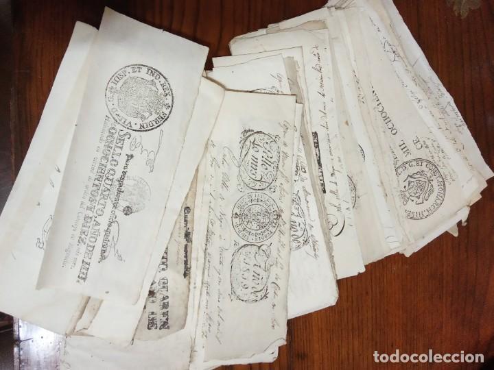 Sellos: COLECCIÓN DE CIENTOS SELLOS FISCALES - FILATELIA FISCAL - TIMBROLOGIA. - Foto 2 - 226383366